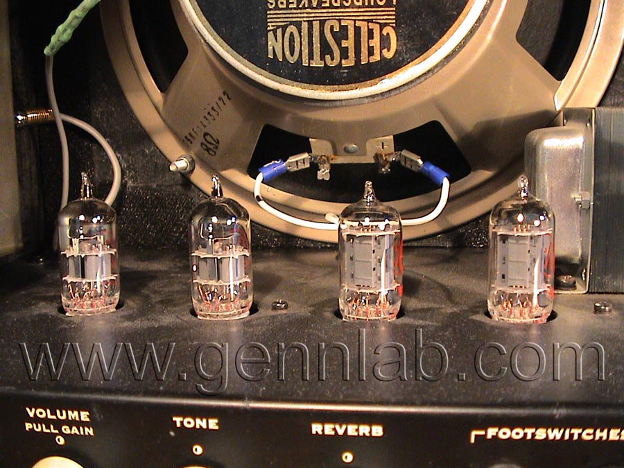 Gibson Velocette Twin. Preamp Stage