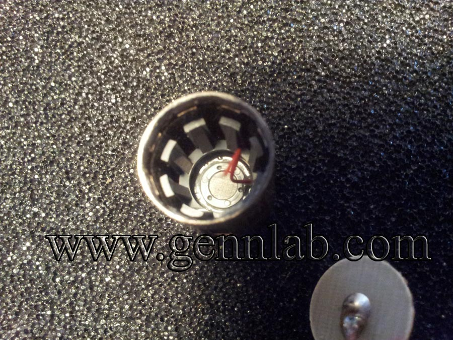 AKG C535EB. Transducer Spacer.