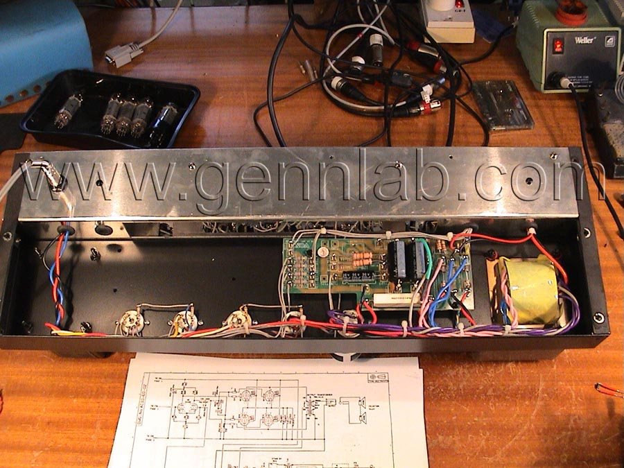 VOX AC30 Chassis under test
