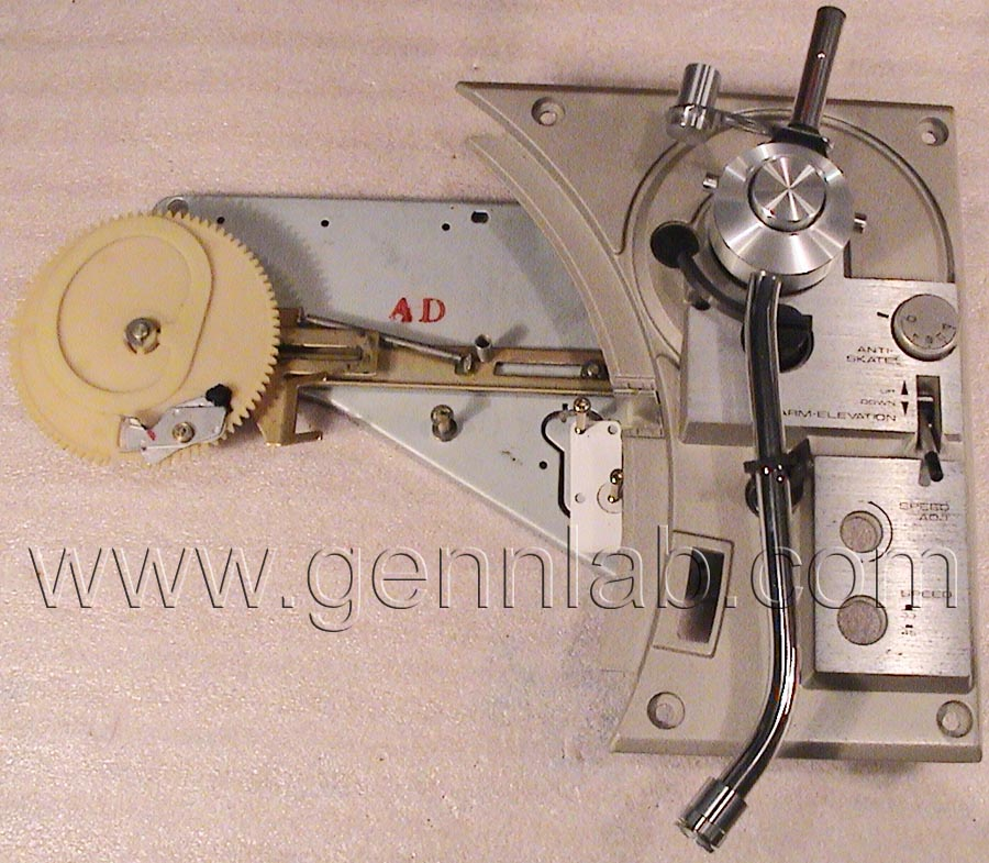 PIONEER PL-518 removed Mechanism - Arm base Assembly