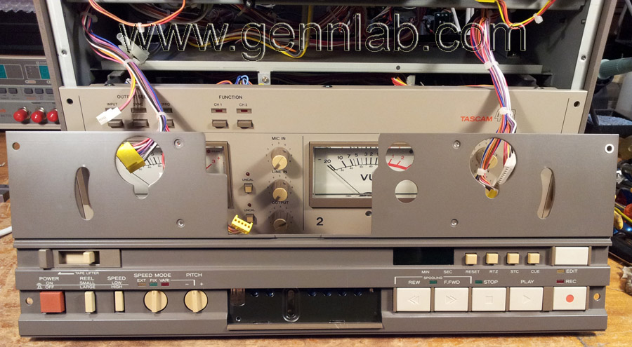 Tascam 42B removed Control Panel