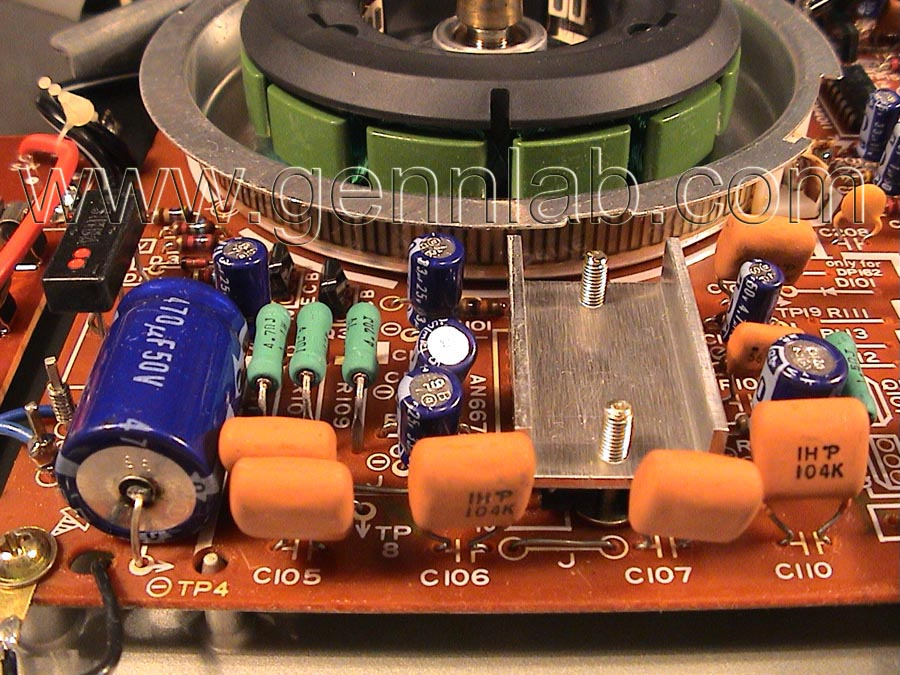 Technics SL-1200MK2 Power Supply and DriveCircuit