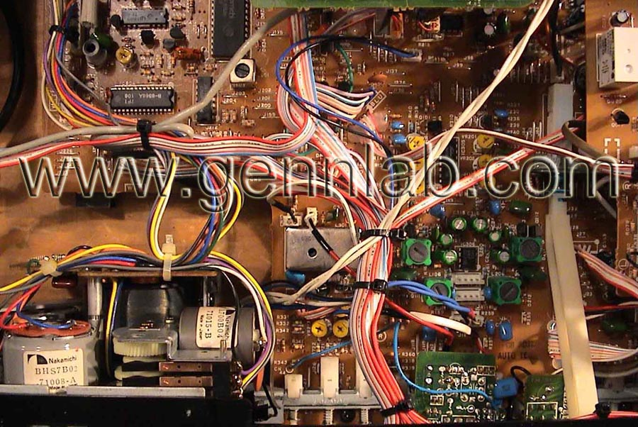 Nakamichi CR4 Top Left wiring