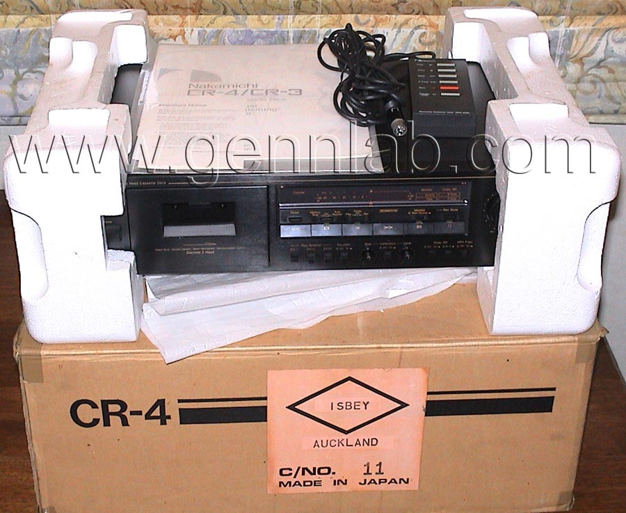 Nakamichi CR4 package