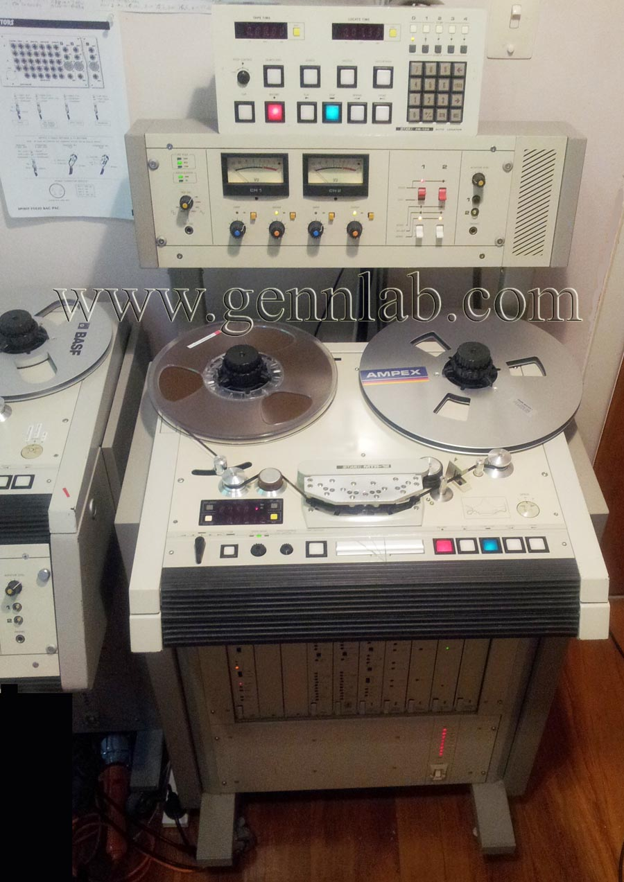 MTR-12 CalibrationTape and Speed Tape Recording Machine