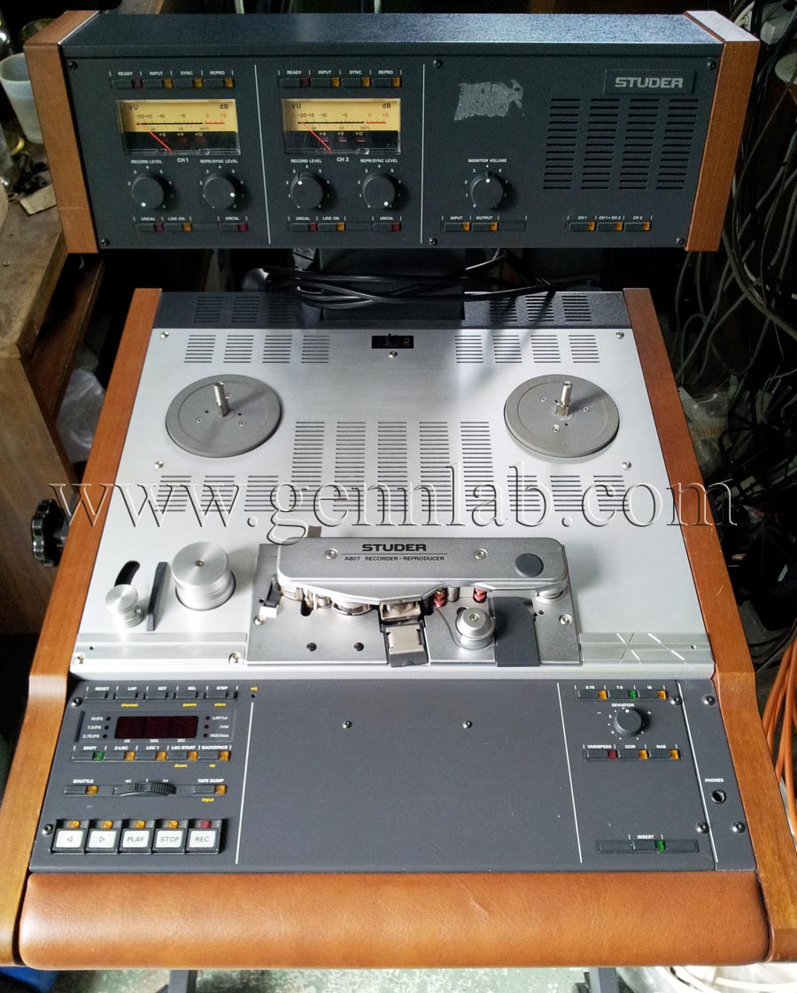 STUDER A807 Professional Tape Recorder.