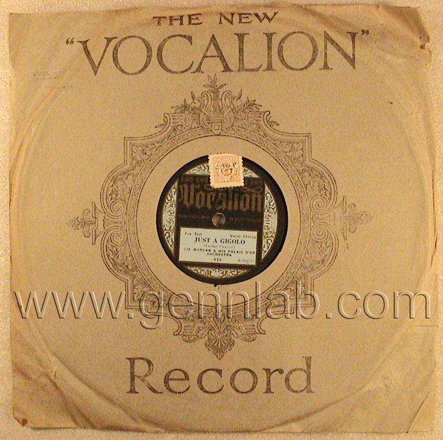 Vocalion 10in 78 818 (R.10370)