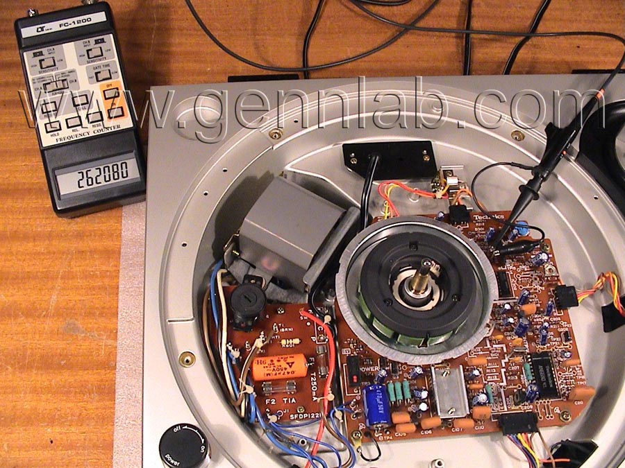 Technics SL-1200MK2 Pitch adjustment