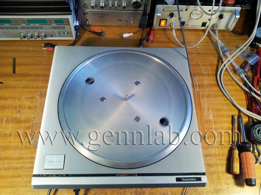 Technics SP10mk2 under test.
