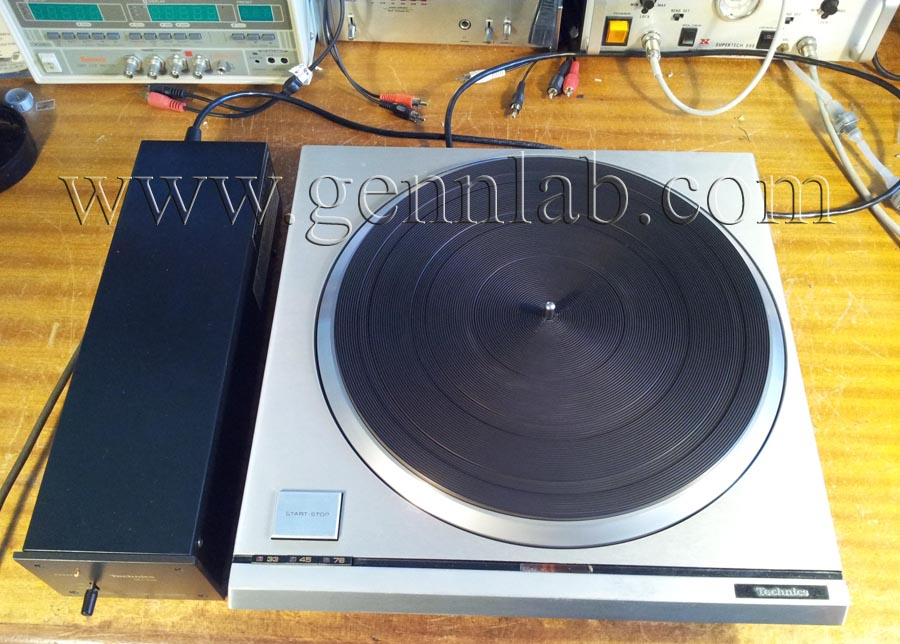Technics SP10mk2 finished project.