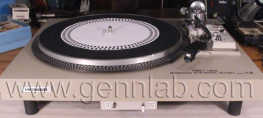 PIONEER PL-518 modified
