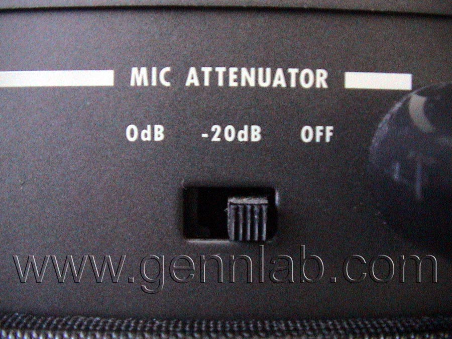 OTARI MX-5050B2 Mic Attenuator Switch