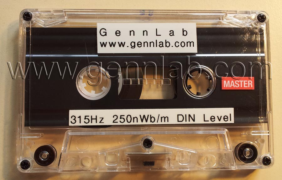 Sample of Level Standard Alignment Cassette
