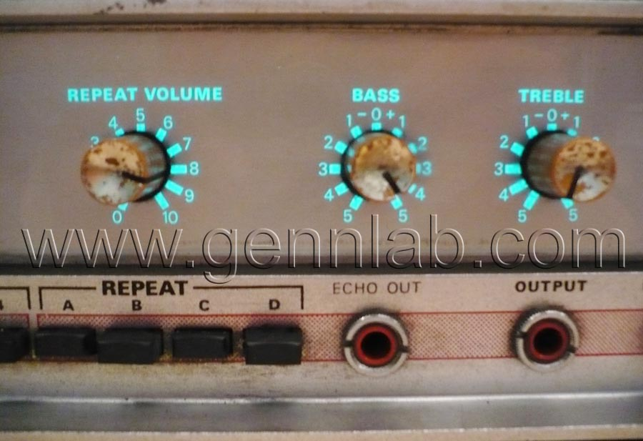 HH Tape Reverb Front Panel 1