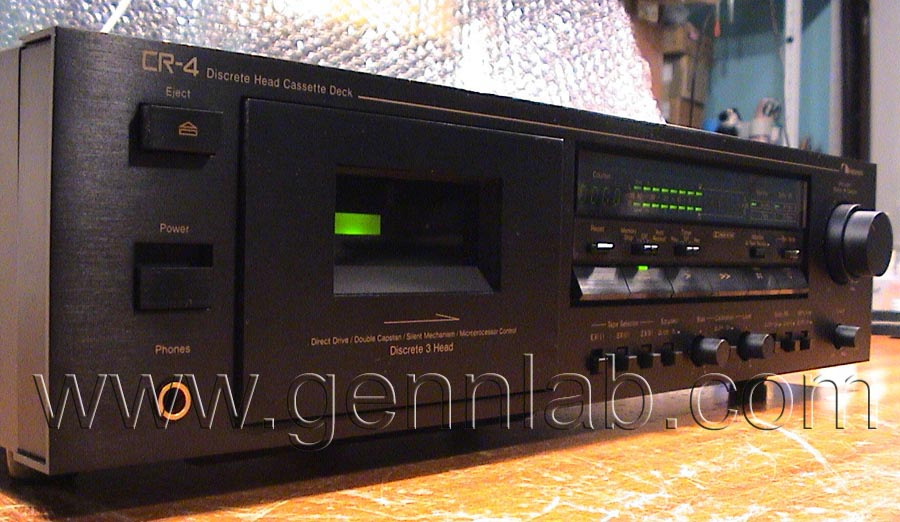 Nakamichi CR4 Front Left