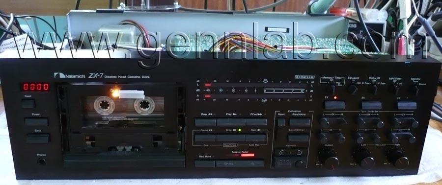 Nakamichi ZX7, Assembled, ready for tests