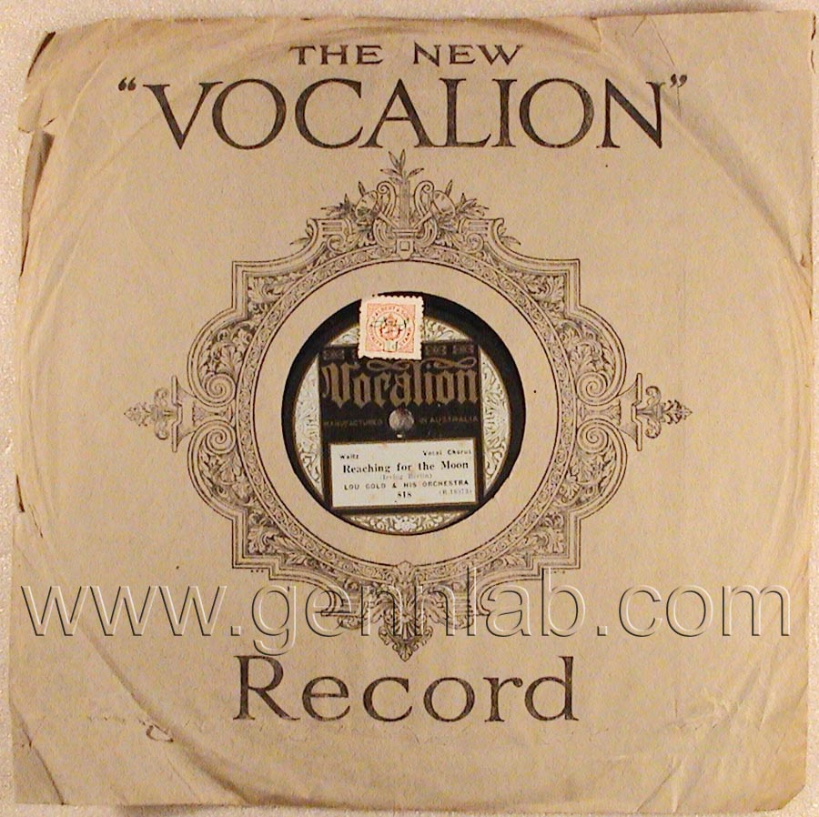 Vocalion 10in 78 818 (R.10373)
