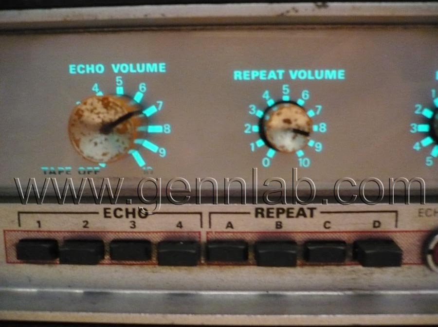 HH Tape Reverb Front Panel 3