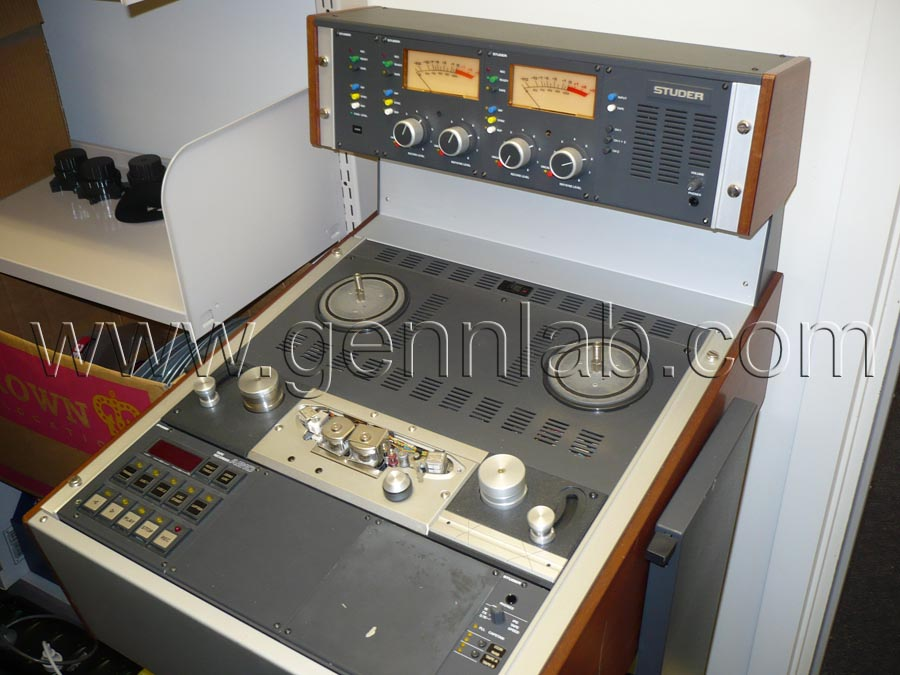 STUDER A810 Professional Tape Recorder 1