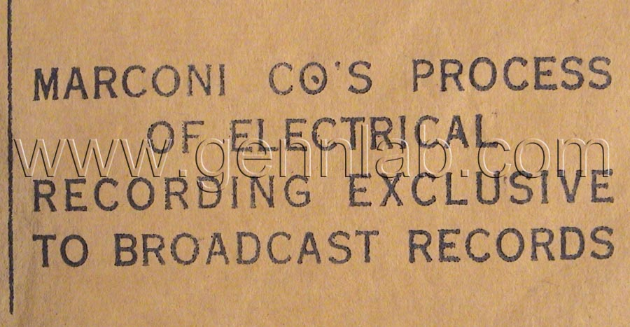 VOCALION BROADCAST