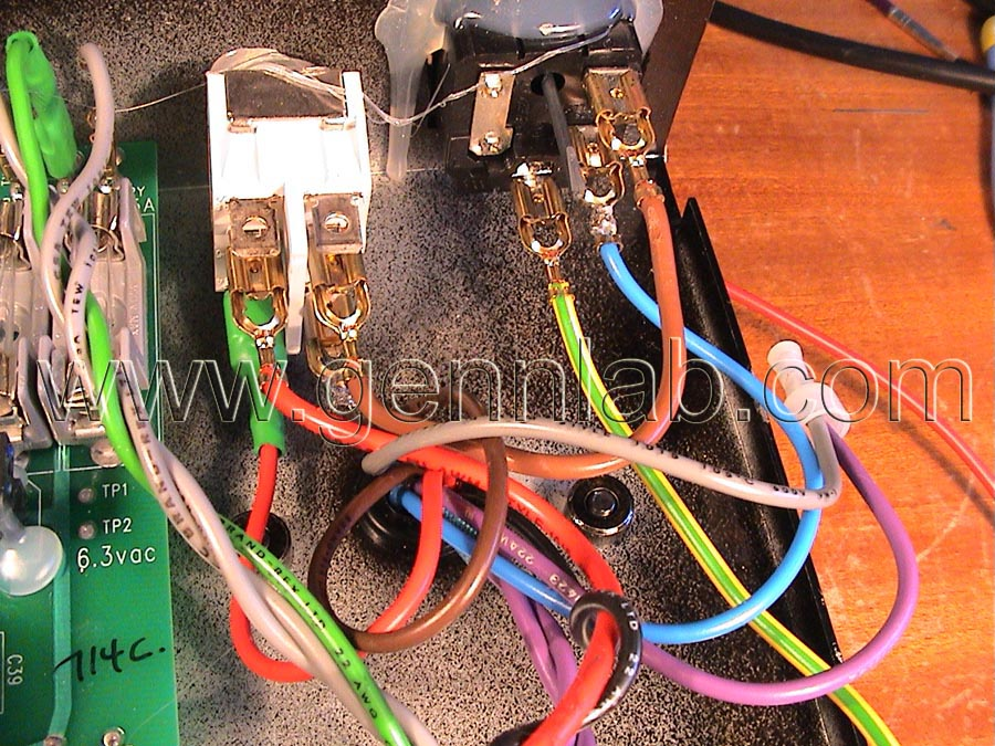 Gibson Gold Tone 230V MAINS Connections