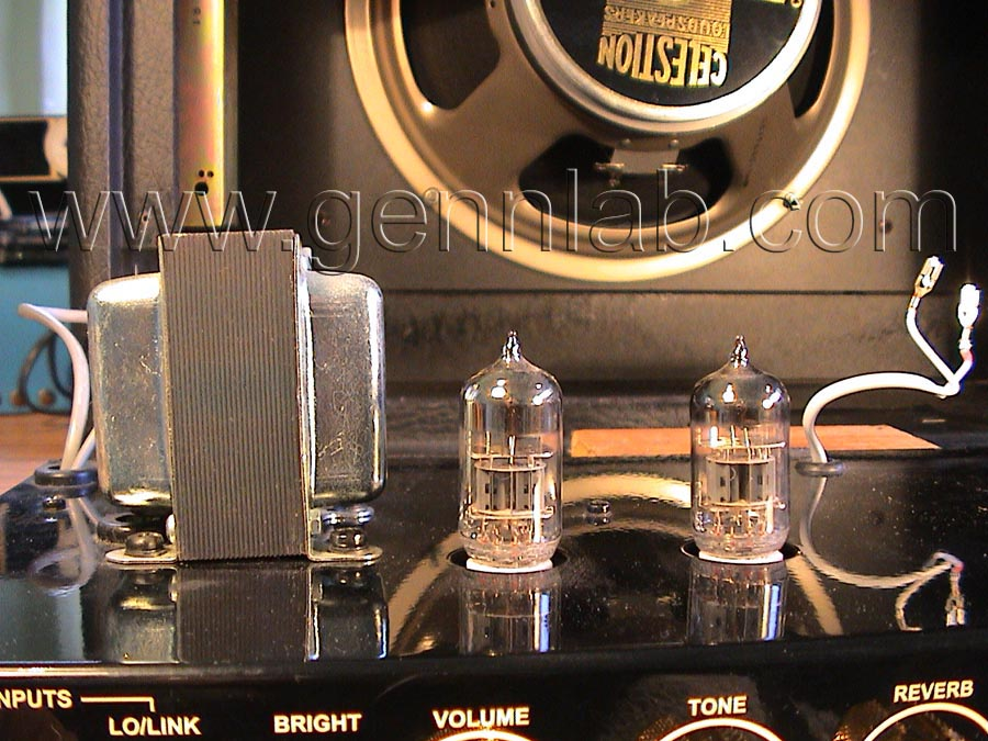 Gibson Gold Tone Output Transformer and Input Stages