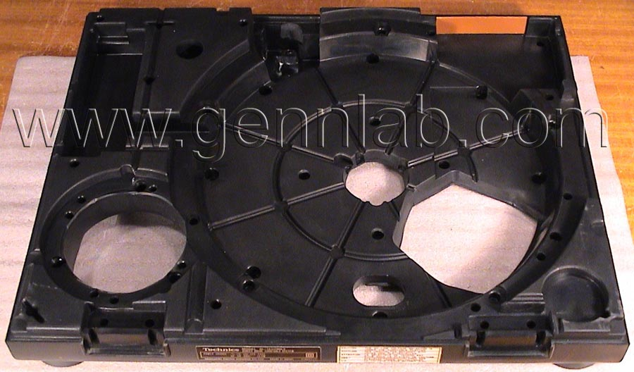 Technics SL-1200MK2 Bottom Rubber Base rear