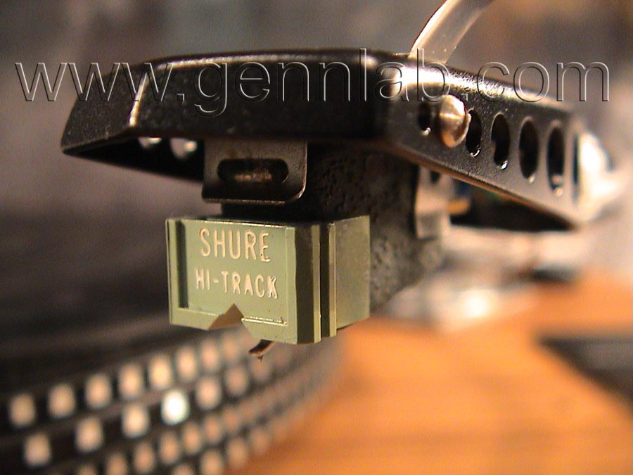 ROTEL RP3000 Shure Cartridge